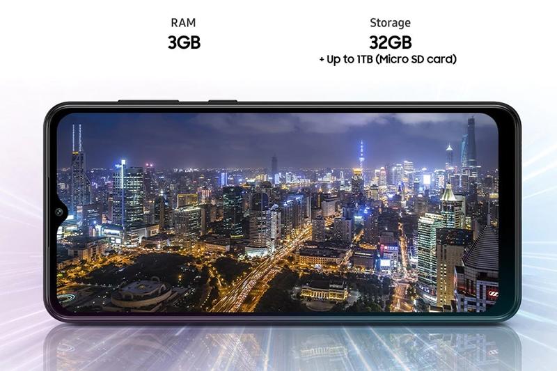 Samsung Galaxy A02 | RAM 3 GB, bộ nhớ trong 32 GB