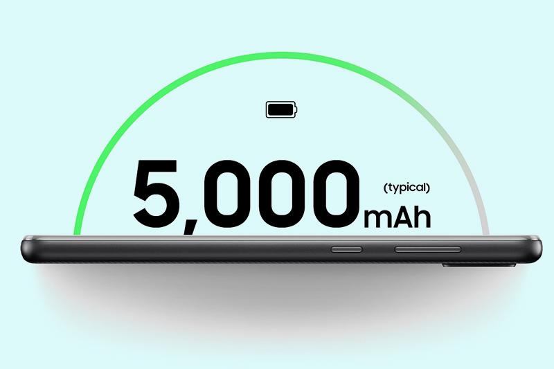 Samsung Galaxy A02 | Pin dung lượng lớn 5000 mAh