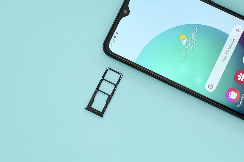 Samsung Galaxy A02 | Hỗ trợ thẻ nhớ ngoài
