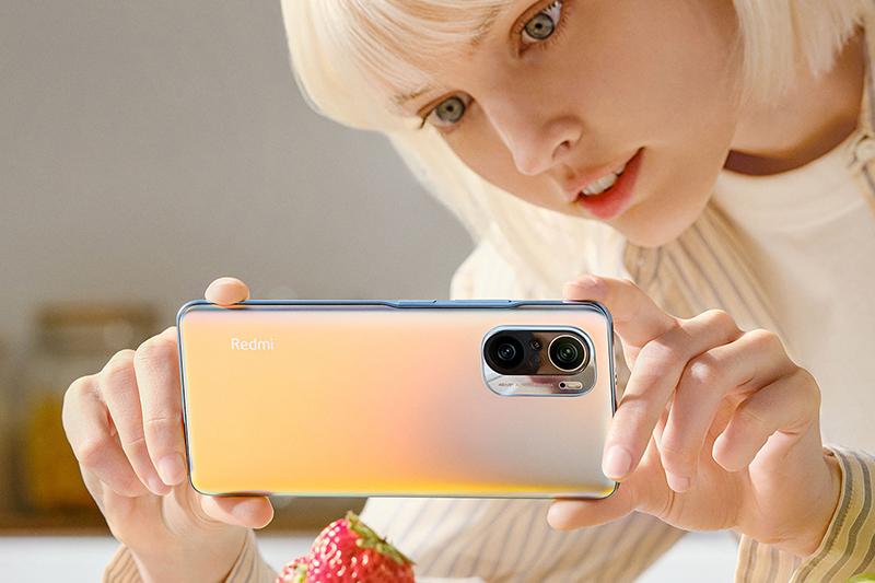 Xiaomi Redmi K40 | Camera macro tele trên Redmi K40 có tiêu cự 50 mm