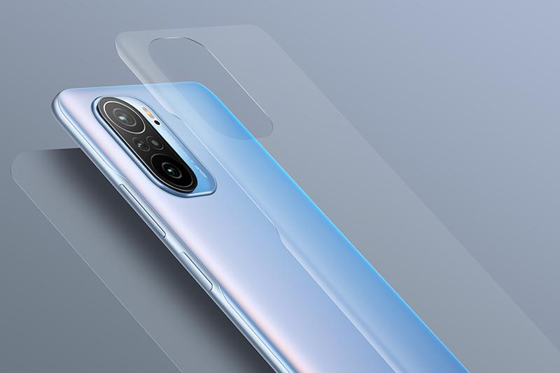 Xiaomi Redmi K40 | Thiết kế mặt lưng