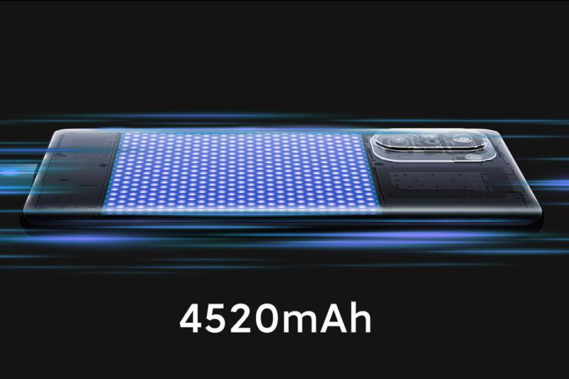 Xiaomi Redmi K40 Pro | Dung lượng pin khá lớn 4520 mAh