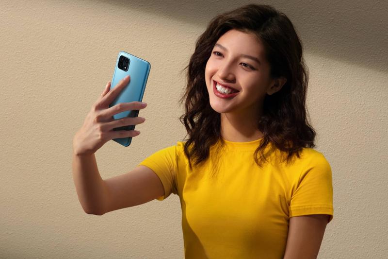 Điện thoại OPPO A15 - Nhận diện luôn mặt AI