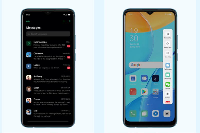 Điện thoại OPPO A15 - Tiện ích hay trên ColorOS 7.2