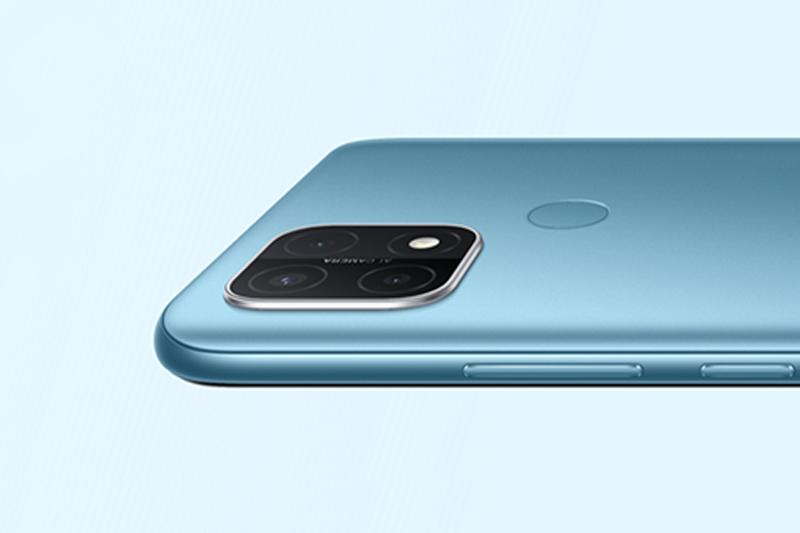 Điện thoại OPPO A15 - Mặt lưng 3D với thiết kế mỏng