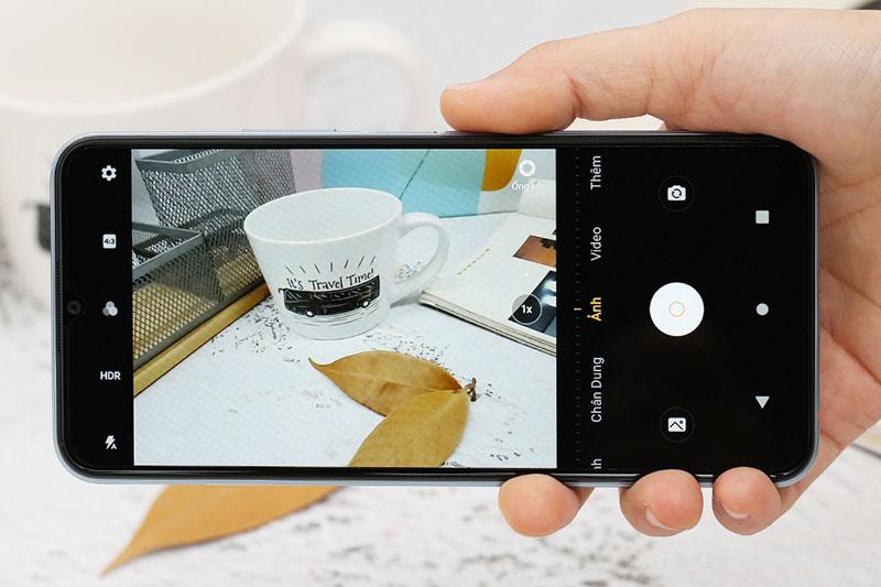 Điện thoại Vivo Y12s | Giao diện camera sau