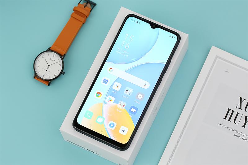 Điện thoại OPPO A15s | Thiết kế hiện đại, vẻ ngoài cá tính