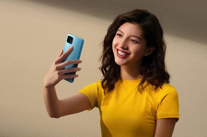 Điện thoại OPPO A15s | Khả năng nhận diện khuôn mặt