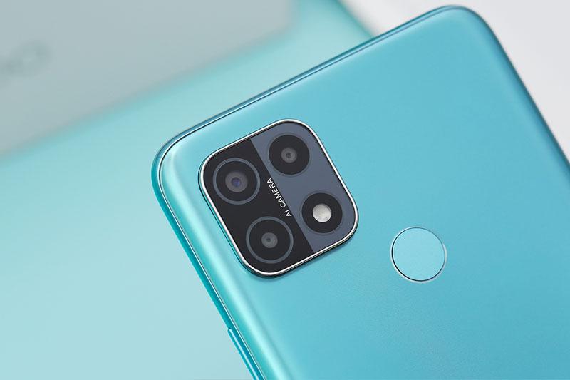 Điện thoại OPPO A15s | Bộ 3 camera sau hỗ trợ AI thông minh