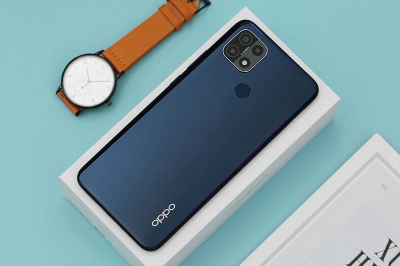 Điện thoại OPPO A15s | Thiết kế mặt lưng