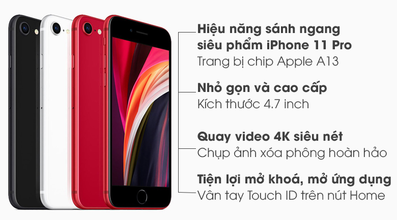 iPhone SE 64GB (2020) (Hộp mới)