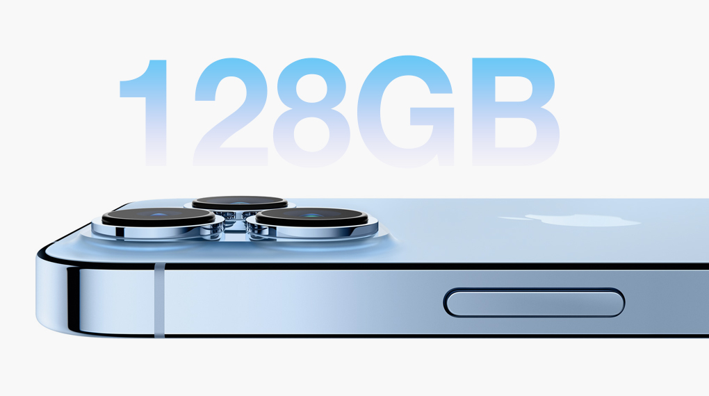 Dung lượng bộ nhớ - iPhone 13 Pro 128GB