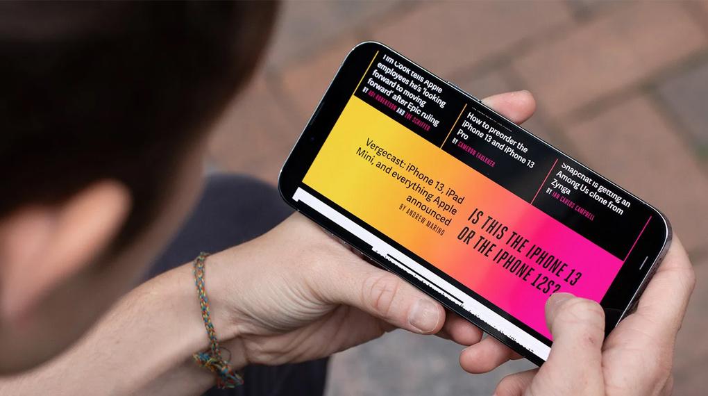 Chuyển động mượt mà nhờ tần số 120 Hz - iPhone 13 Pro 128GB