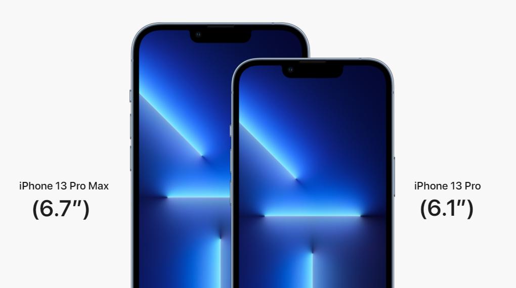 Trang bị màn hình 6.1 inch - iPhone 13 Pro 128GB