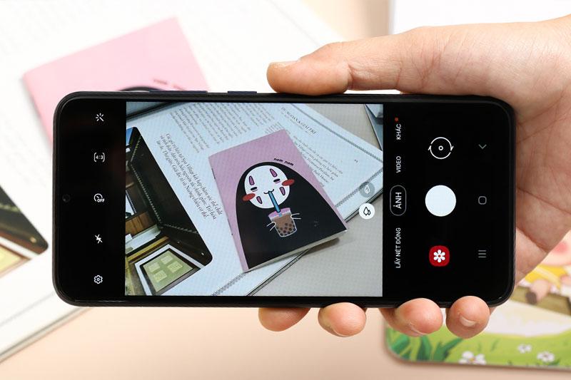 Giao diện chụp ảnh | Samsung Galaxy A02s