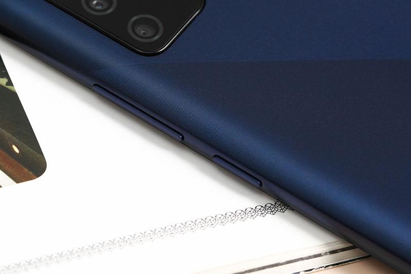 Các cạnh viền được bo cong mềm mại | Samsung Galaxy A02s