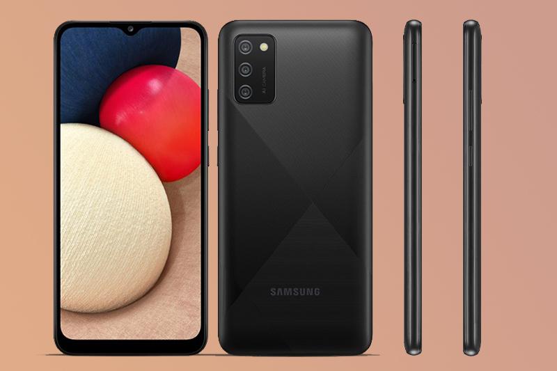 Thiết kế trẻ trung bắt mắt   Samsung Galaxy A02s