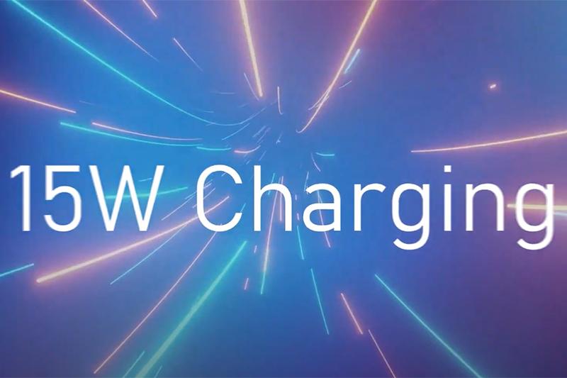 Trang bị công nghệ sạc pin nhanh 15 W | Samsung Galaxy A02s