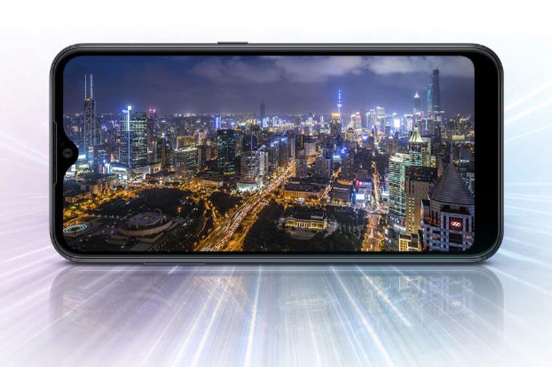 Thiết kế màn hình giọt nước Infinity-V kích thước lớn 6.5 inch   Samsung Galaxy A02s