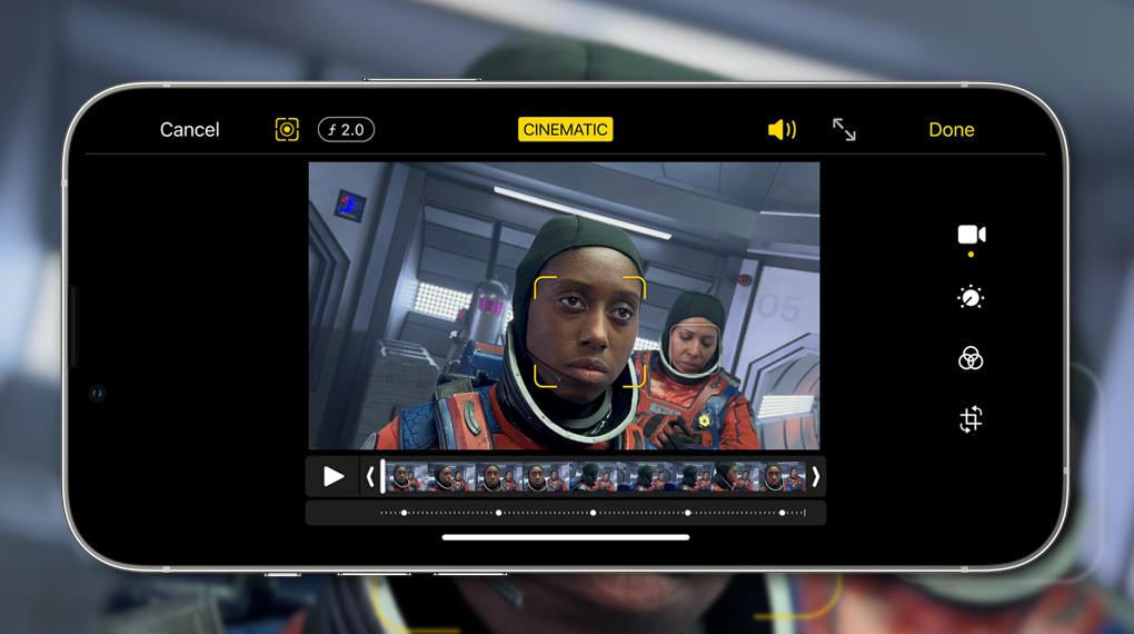 Chế độ quay Cinematic - iPhone 13 Pro Max 128GB