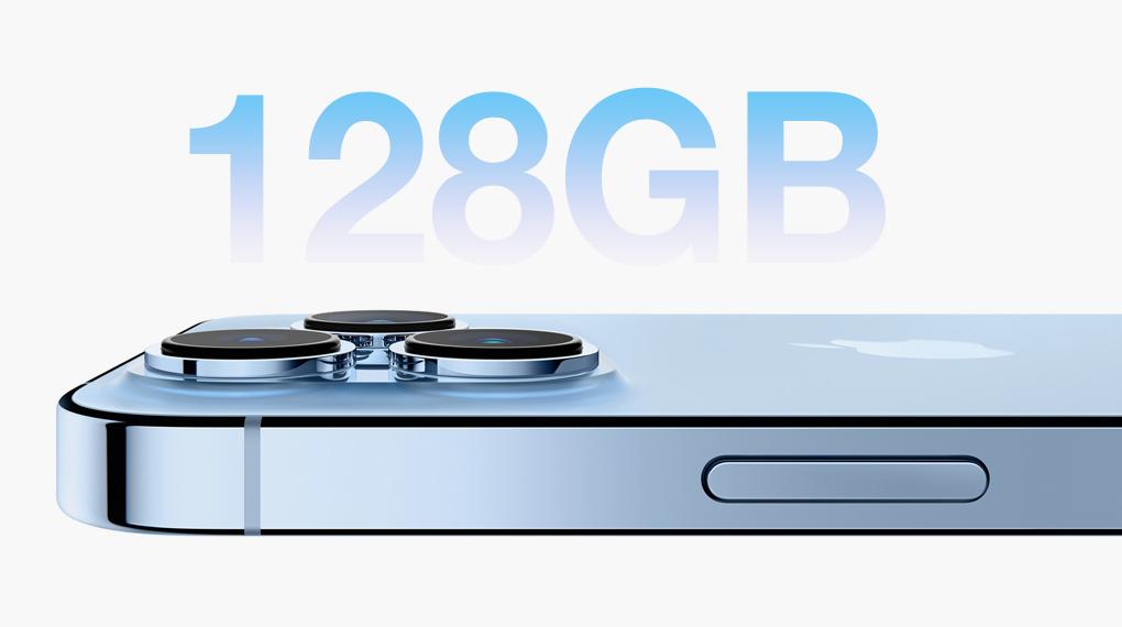 Dung lượng bộ nhớ - iPhone 13 Pro Max 128GB