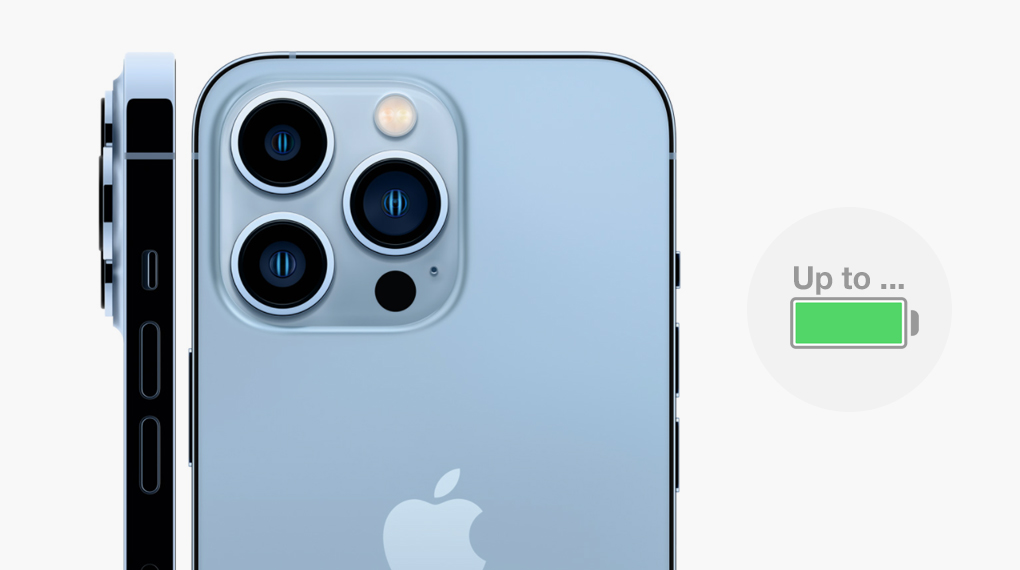 Chip A15 giúp tối ưu hóa năng lượng - iPhone 13 Pro Max 128GB