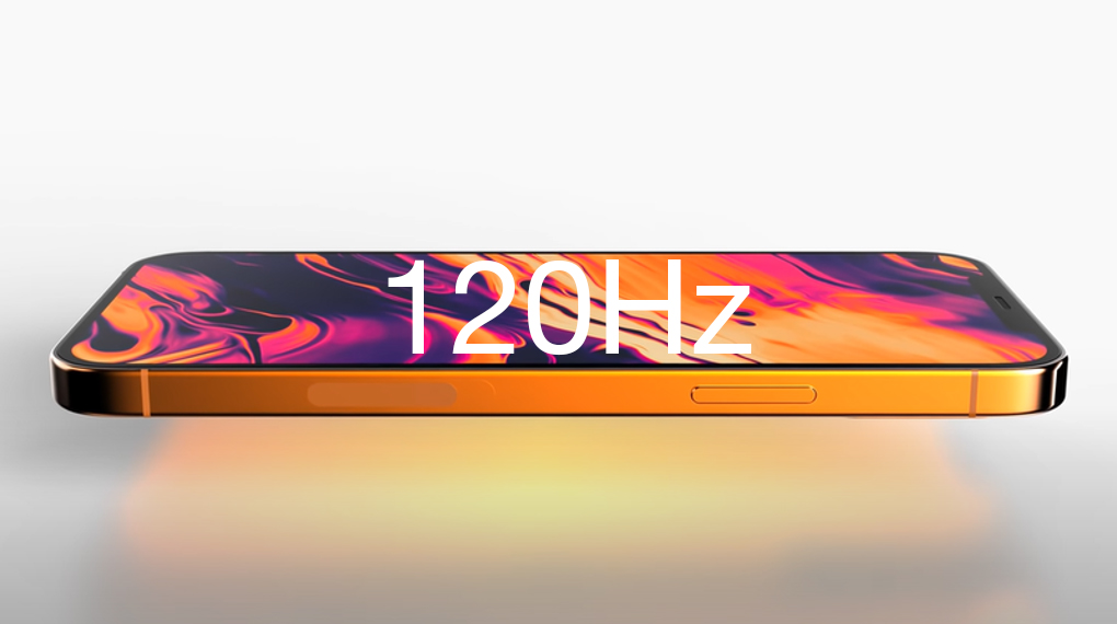 iPhone mới | Hỗ trợ tần số quét cao 120 Hz