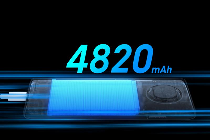 Pin trâu 4820 mAh đi kèm sạc nhanh 33W | Xiaomi Redmi Note 9 Pro 5G