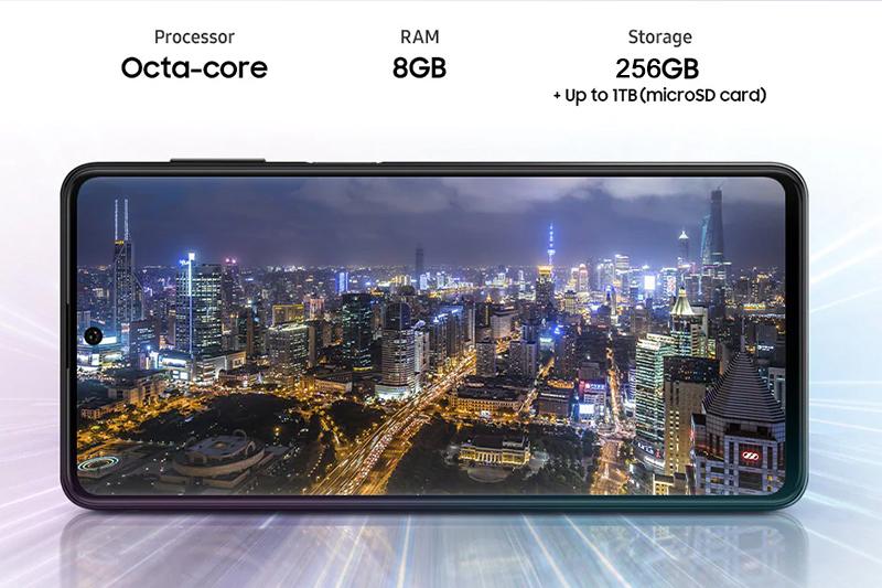 Samsung Galaxy M62 | RAM 8 GB và bộ nhớ lưu trữ lớn 256 GB