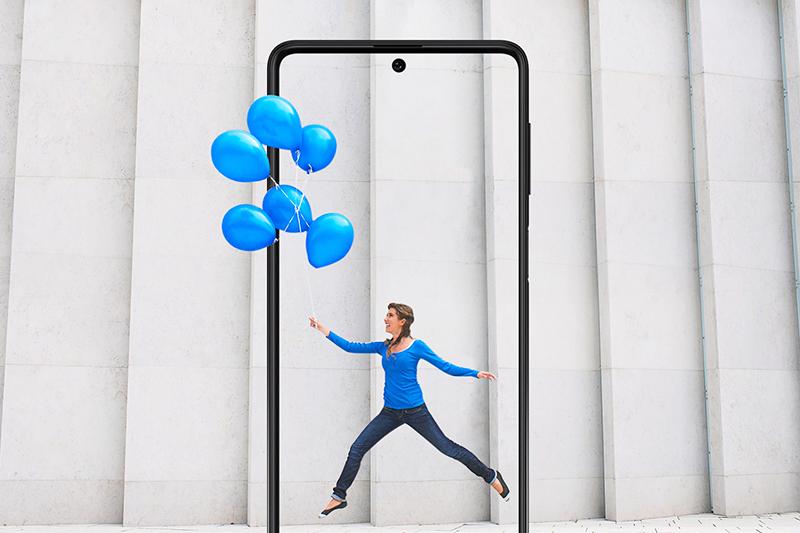 Samsung Galaxy M62 | Trang bị màn hình Super AMOLED Plus