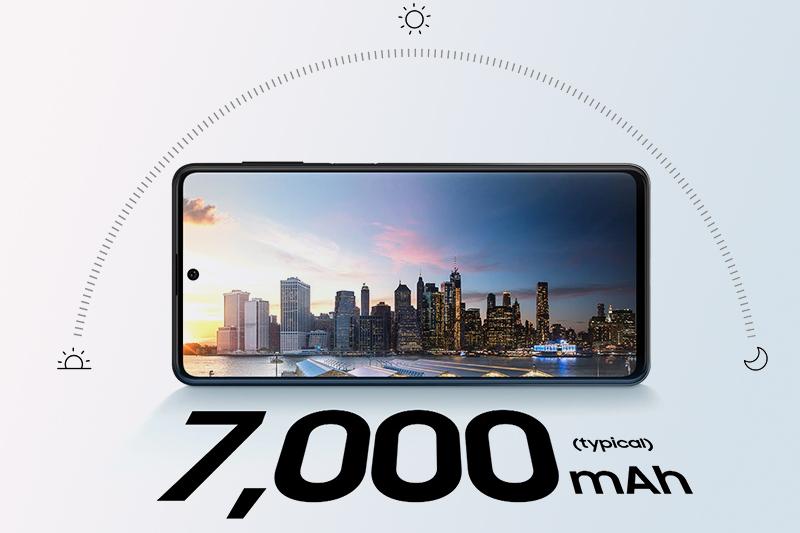 Samsung Galaxy M62 | Pin chuẩn Li-Po dung lượng tràn đầy 7000 mAh