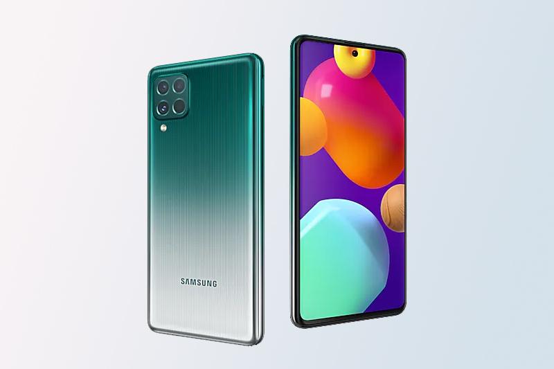 Samsung Galaxy M62 | Thiết kế nguyên khối bền chặt, màn hình đục lỗ