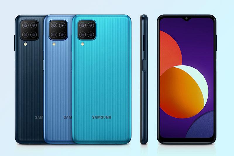 Samsung Galaxy M12 | Bảo mật vân tay với cảm biến tích hợp ở nút nguồn