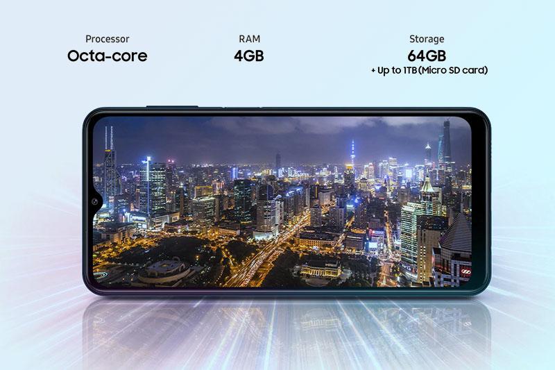 Samsung Galaxy M12 | RAM 4 GB, bộ nhớ trong 64 GB