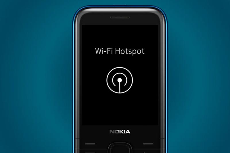 Khả năng chia sẽ Internet | Nokia 8000 4G