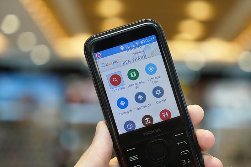 Hỗ trợ tính năng Google Map | Nokia 8000 4G