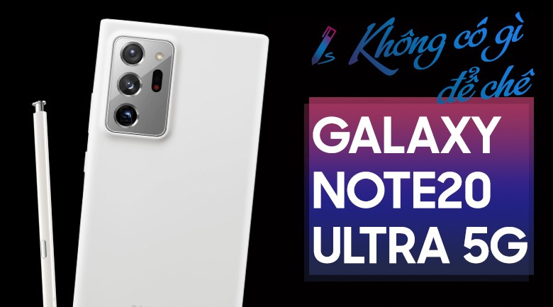 Samsung Galaxy Note 20 Ultra 5G Trắng