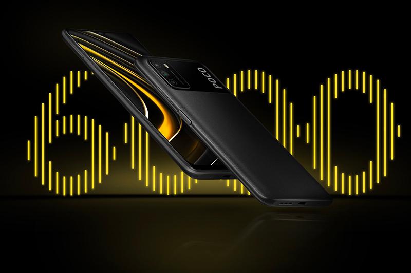 Xiaomi POCO M3 | Pin 6000 mAh ấn tượng.