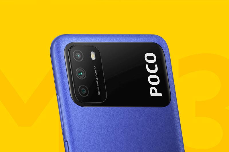 Xiaomi POCO M3 | Cụm 3 camera sau lên đến 48MP sắc  nét
