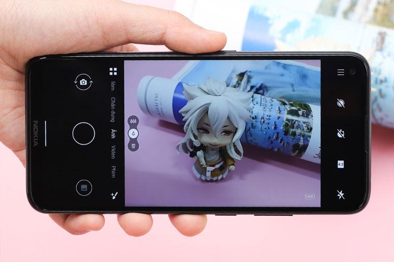 Điện thoại Nokia 5.4 | Giao diện chụp ảnh
