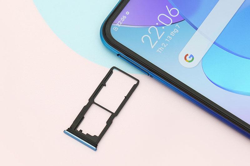 Điện thoại Vivo Y20 (2021) | Hỗ trợ mở rộng dung lượng qua thẻ nhớ ngoài
