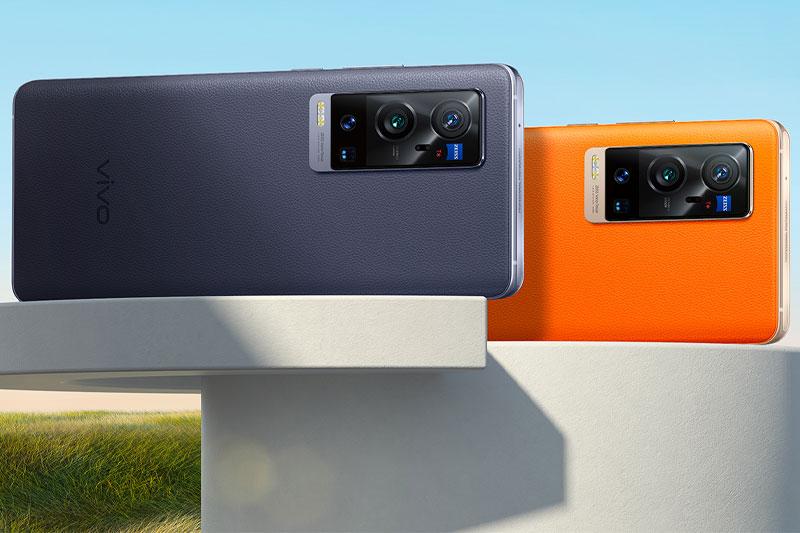 Điện thoại Vivo X60 Pro Plus | Thiết kế sang trọng với mặt lưng da cao cấp