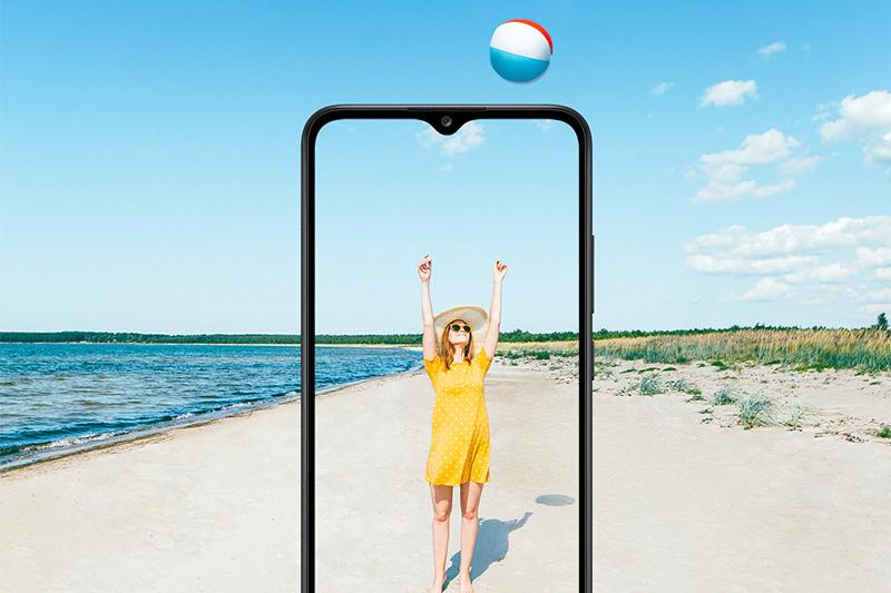 Samsung Galaxy A02s (4GB/64GB) | Màn hình rộng lớn với kích thước 6.5 inch