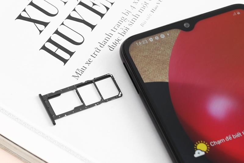 Samsung Galaxy A02s (4GB/64GB) | Hỗ trợ thẻ nhớ ngoài MicroSD