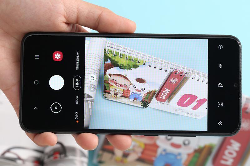 Samsung Galaxy A02s (4GB/64GB) | Giao diện chụp ảnh