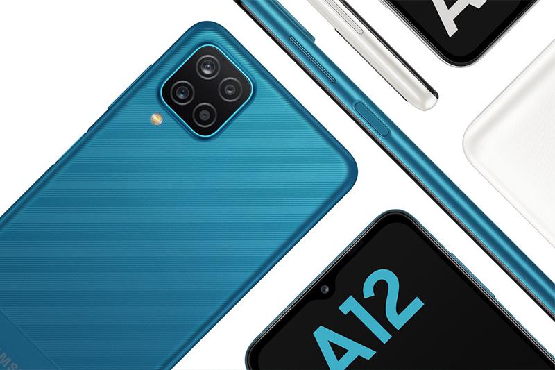 Điện thoại Samsung Galaxy A12 (6 GB/128 GB) | RAM 6 GB, bộ nhớ trong 128 GB