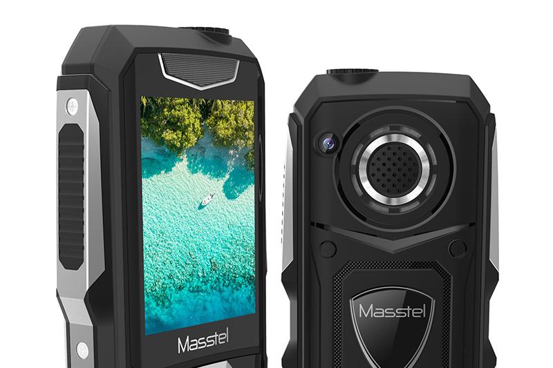 Masstel Play 50 | Màn hình giải trí 2.4 inch độ phân giải QVGA