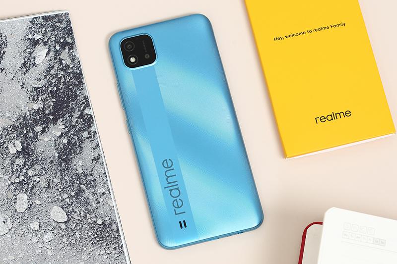 Realme C20 | Thiết kế thời thượng, trẻ trung