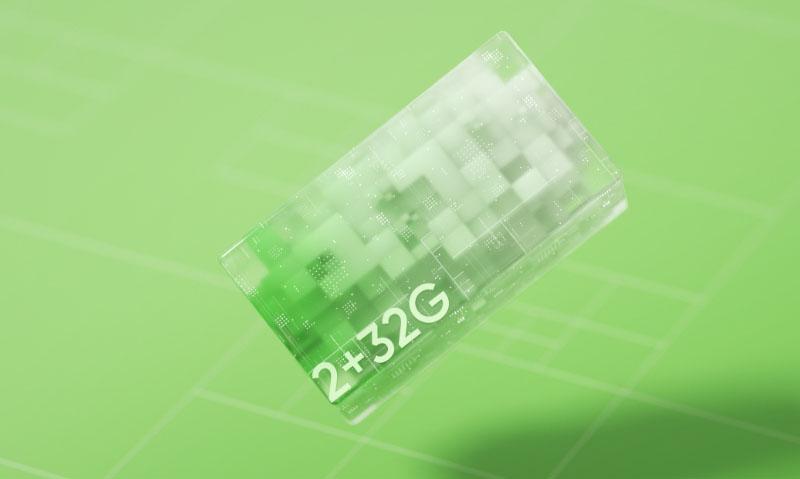 Realme C20 | Tích hợp RAM 2 GB và bộ nhớ trong 32 GB