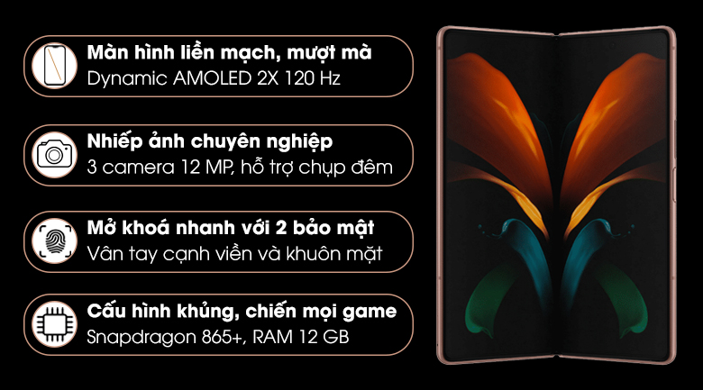 Samsung Galaxy Z Fold2 5G Đặc Biệt